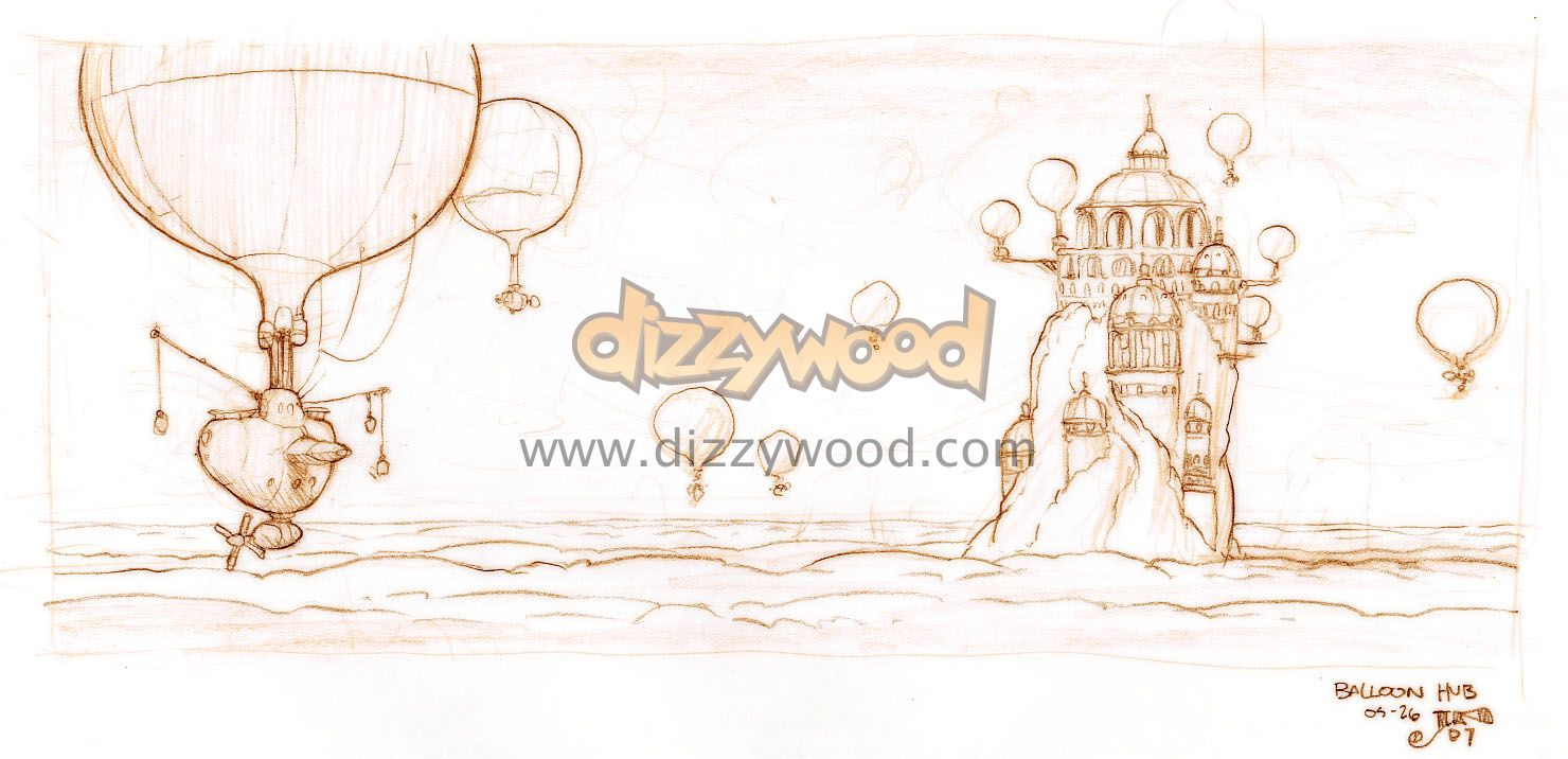 Dizzywood Concept Art