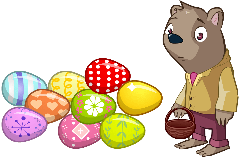 Easter Greetings from Dizzywood